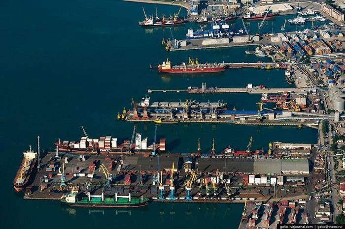 cảng biển ở nga