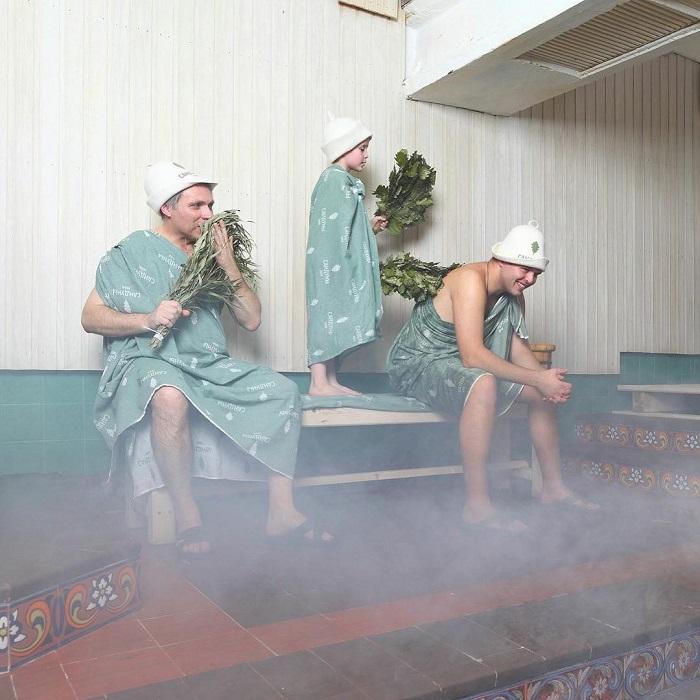 tắm bằng chổi