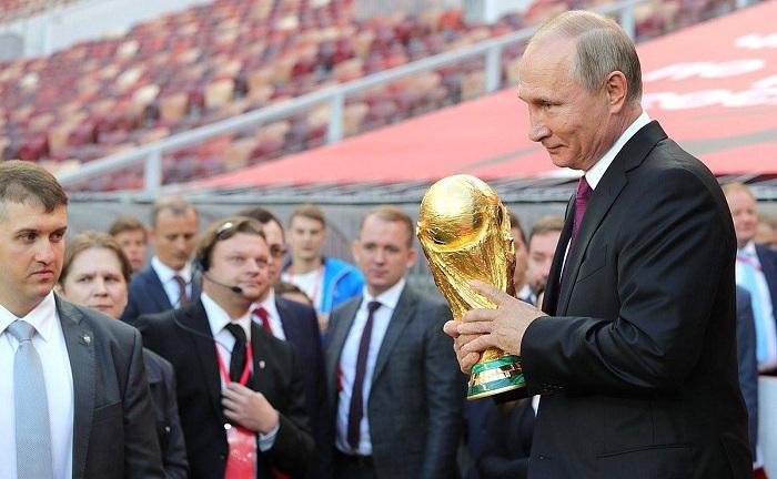 tổng thông putin và world cup