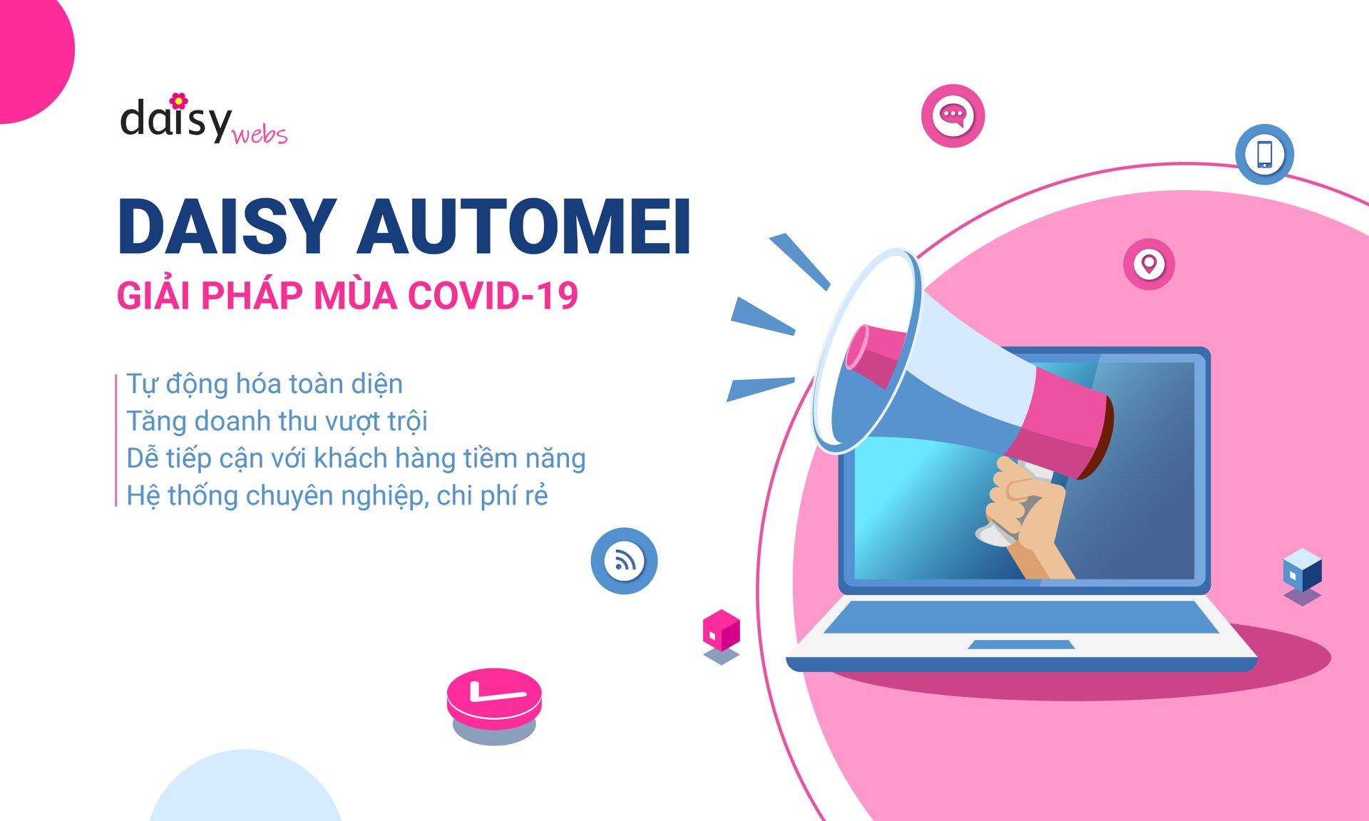 Daisy Webs cam kết mọi trang web đều dễ dàng sử dụng hay tích hợp phát triển
