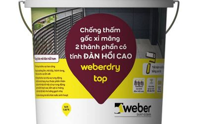 vữa chống thấm weber