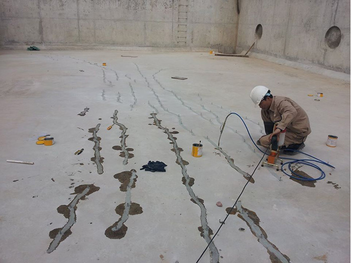 Công trình xây dựng chống thấm sàn
