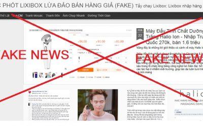 Một trang web bán mỹ phẩm được các bạn trẻ yêu thích đang bị đối thủ chơi xấu - tung tin đồn thất thiệt