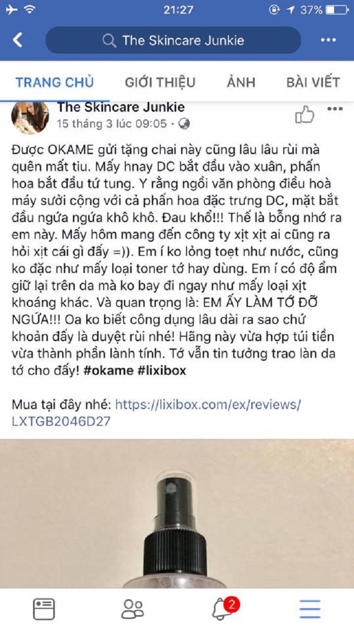 Nhi Ngô PR cho Lixibox