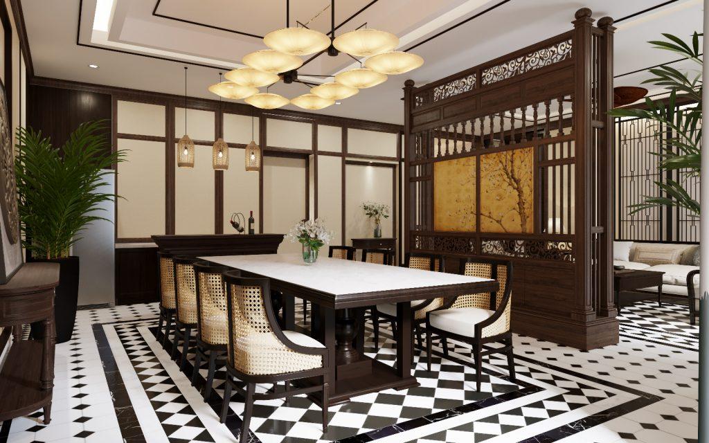 Không gian nhà hàng Potique lãng mạn tại Nha Trang